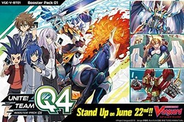 Cardfight!! Vanguard - Unite! Team Q4 V Booster Box - $51.68