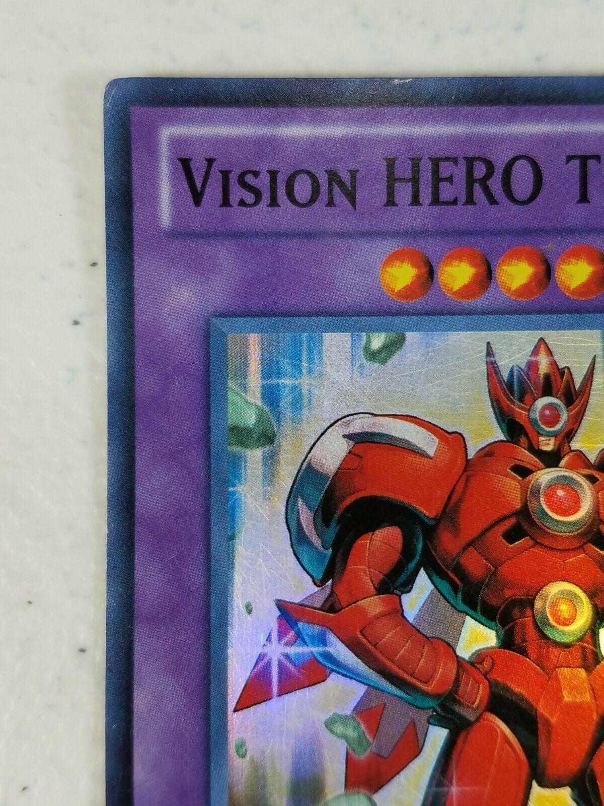 Yu-gi-oh! Trading Card - Vision Hero Trinity - GENF-EN091 - Super Rare