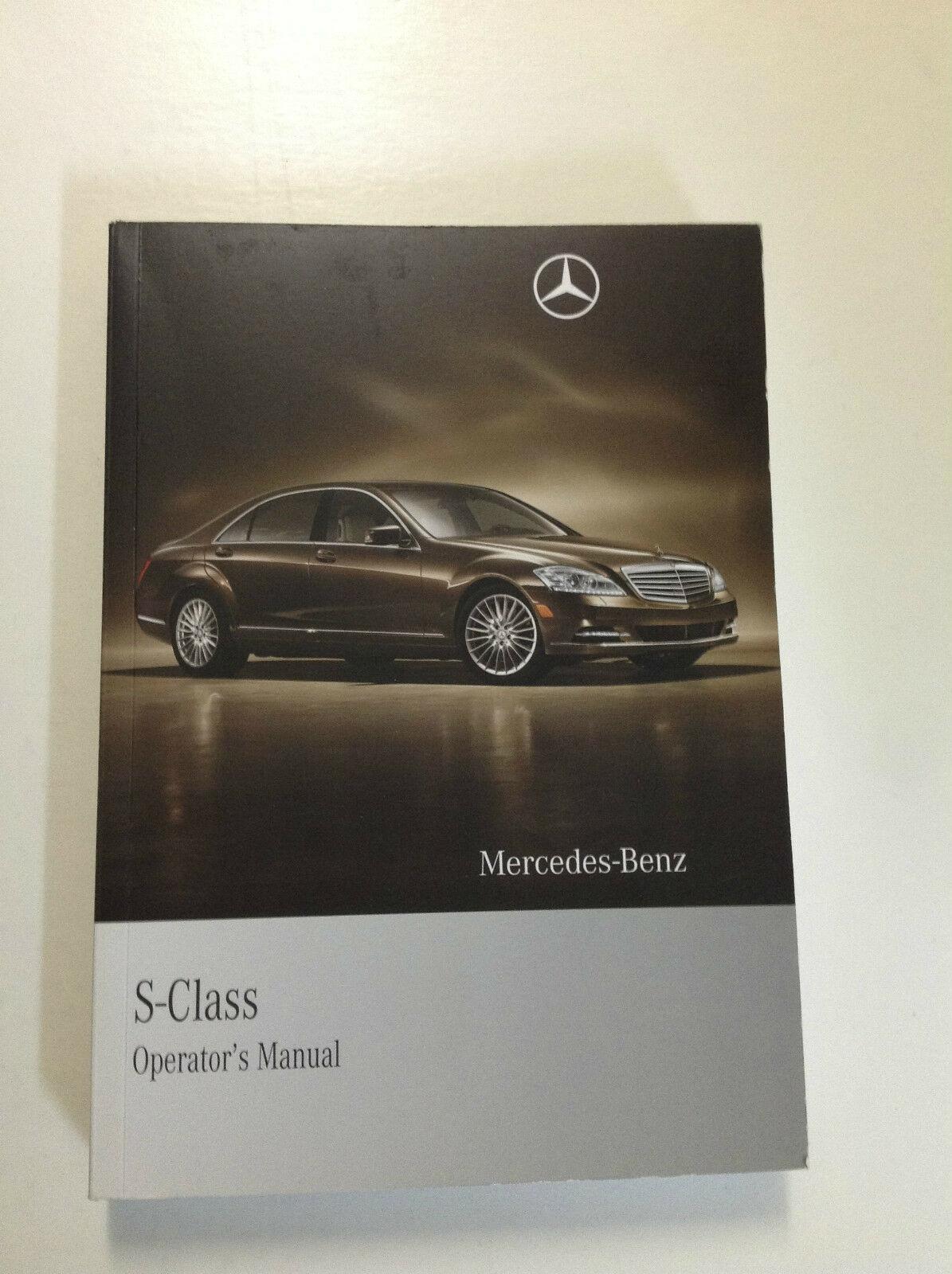 2010 Mercedes Benz S Klasse S550 S600 S Modelle Owners Manuell OEM Buch X