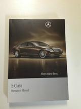 2010 Mercedes Benz S Klasse S550 S600 S Modelle Owners Manuell OEM Buch X - $98.10