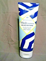 Bath & Body Works Mediterranean Blue Waters Shea Body Cream 8 oz - $14.84