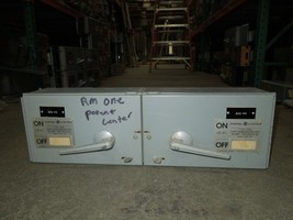 """GE THFP321L/THFP321 30A/30A Twin 3P 240V Fused Panelboard Switch 7""""T w/ ... - $450.00"""
