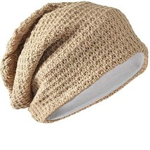 FORBUSITE Mens Slouchy Long Beanie Knit Cap for Summer Winter, Oversize,... - $14.23