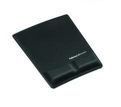Fellowes Health-V Fabrik Mouse Pad/Wrist Support Black - $37.70