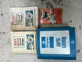 1977 Chrysler Dodge Plymouth Parti Catalogo Manuale & Servizio Negozio S... - $89.04