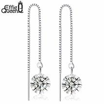 Effie Queen 2017 Ball Crystal Earring with Austrian Crystal Adjustable L... - $5.95