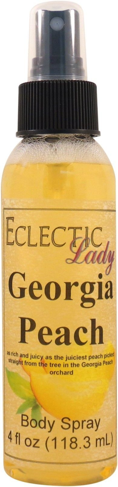 Georgia Peach Body Spray, 4 oz