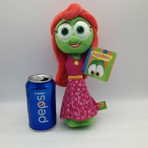 "Enesco Veggietales Petunia Rhubarb Plush Doll Toy 11"" Tall Super Soft Veggie image 11"