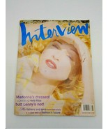 Interview Magazine June 1993 Madonna Cover Complete with Absolut Vodka Bag - $48.37