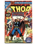 THOR ANNUAL #6-Guardians of the Galaxy-comic book -MARVEL-High Grade VF- - $50.44