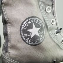 Converse CTAS Back Lace Hi Top Shoes Womens SZ 8 See Through Chucks Gray White image 11