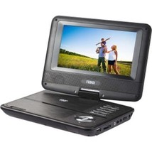 "Naxa NPD-703 Portable DVD Player - 7"" Display - Black - $86.81"
