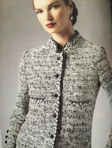Vogue Sewing Pattern Claire Shaeffers 8991 Misses Petite Jacket Size 6-1... - $20.96
