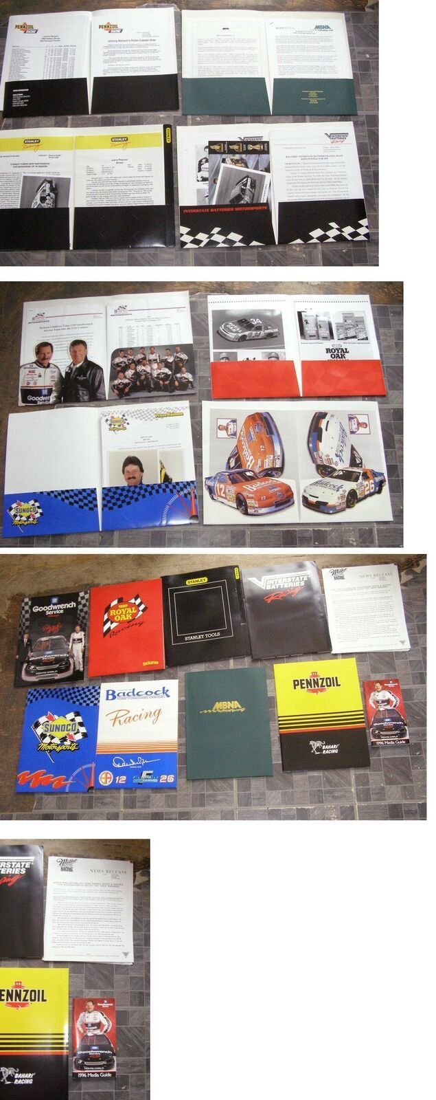 NASCAR Racing Kits Larry Pearson Bobby Labonte Rusty Wallace +