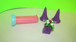 Playmobil Magic castle fantasy unicorn replacement castle turrets column... - $9.89