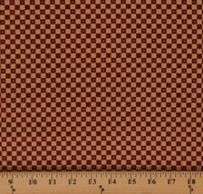 Cotton Jo Morton Essex Checks Checkerboard Squares Fabric Print BTY M719.05 - $10.95