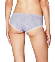 NEW Heidi Klum Intimates Peony Dots Lace Trim Seamless Hipster Bikini Panty NWT image 3