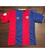 Optimus BARCELONA SOCCER FOOTBALL JERSEY Mens LFP Shirt Dri-fit - $14.03