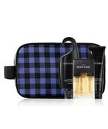 Avon Black Suede For Men Trinity Dopp Gift Set - $41.98