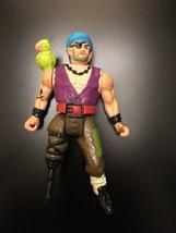 "HOOK BILL JUKES Vintage Tri-Star Pictures Mattel Action Figure 4"" 1991 - $3.96"