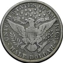 1909O Silver Barber Half Dollar Coin Lot A 350 image 2