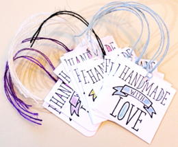 Handmade With Love Tags 12pk For Handmades Pack... - $5.00