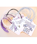 Handmade With Love Tags 12pk For Handmades Packaging, Product Display, Etc. - $5.00