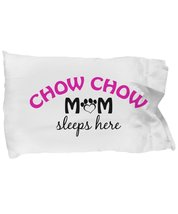 Chow Chow Mom and Dad Pillow Cases (Mom) - $9.75