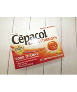 Cepacol Extra Strength Sore Throat 16 Lozenges Honey Lemon Maximum Numbing - $5.92