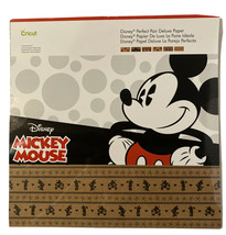 Cricut Disney Mickey Mouse Perfect Pair Deluxe Paper- New And Sealed - $13.26
