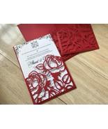 50pcs Red Pocket Invitation cards,Invite cover,Wedding Invitation,many c... - $58.60
