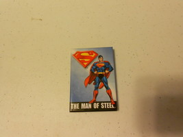 """2 1/4"""" x 3 1/4"""" Magnet (new) SUPERMAN THE MAN OF STEEL - $4.29"""