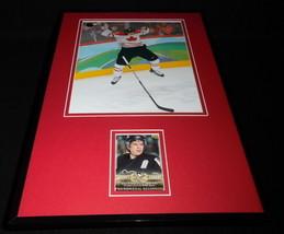 Sidney Crosby Framed ORIGINAL 2005 Upper Deck PB Rookie Card & Photo Set Canada - $74.44