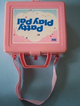 Rare 1987 IDEAL TALKING PATTY PLAYPAL TAPE PLAYER TOTE LUNCH BOX - $21.78