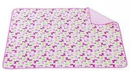 Toddler Waterproof Washable Diaper Changing Mat Pad(Pink Deer)-5070cm