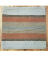 Pottery Barn KILIM STRIPED Pillow Cover WOOL EXTERIOR 20x20 NWOT  #39 - $49.99