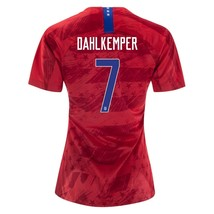 Nike Abby Dahlkemper 7 Usa 2019 World Cup 3 Star Women's Red Womens Jersey Patch - $79.99