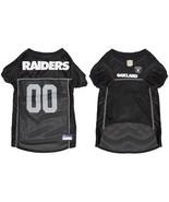 NEW NFL Licensed Team Mesh Football Jersey Pet Wear Dogs L Large Oakland... - $20.15