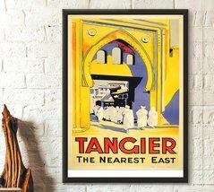 Morocco Travel Print - Tangier Poster Vintage Travel Poster Travel Decor... - $16.99+