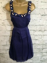 Vero Moda Ladies Purple Silk Mini Dress  Size S UK 8 EU 36 US 8 - €54,86 EUR