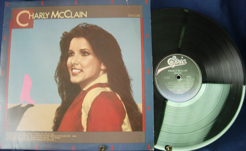 Charly McClain - Encore - Epic Records 37347