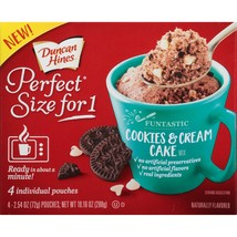 Duncan Hines Perfect Size, Cookies & Cream, 10.... - $6.43