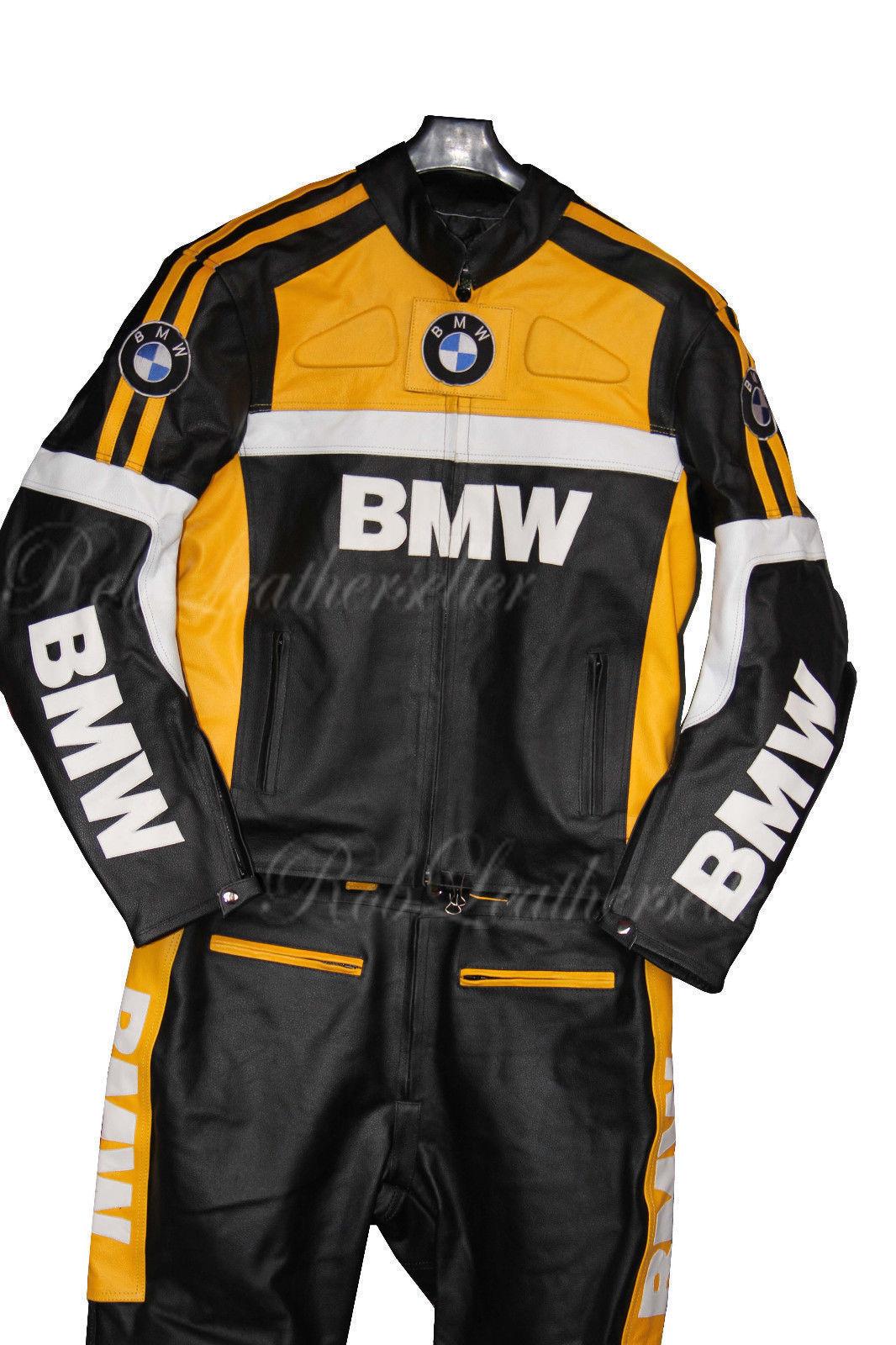 Bmw Motorcycle Jacket Yellow