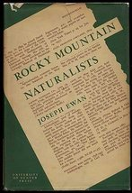 Rocky Mountain Naturalists Ewan, Joseph Andorfer