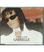 GABRIELLE - SHOULD I STAY /(REMIX) / 5 O'CLOCK (REMIX) 2000 UK CD SINGLE... - $12.75