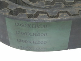 NEW DURKEE ATWOOD 1260XH200 POSITIVE DRIVE BELT image 2