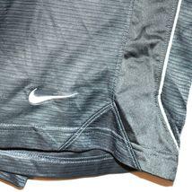 Nike Layup Men's Gray Basketball Athletic Swoosh Shorts Size M image 4