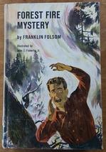 Forest Fire Mystery Troy Nesbit (Franklin Folsom) Harvey House edition h... - $6.00