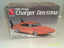 Vintage AMT 1969 Dodge Charger Daytona Plastic Model Kit #6248 1/25 Scale - $28.11