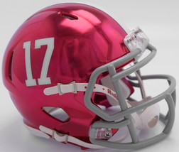 Alabama Crimson Tide Helmet Riddell Replica Mini Speed Style Chrome Alternate**F - $29.99